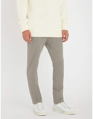 Salvatore Ferragamo Tennis cotton-blend jogging bottoms