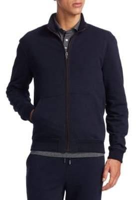 Ermenegildo Zegna Cotton Zip Jacket