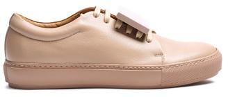 Acne Studios Adriana TurnUp leather trainers