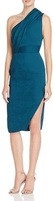 Elliatt Liberty One Shoulder Bodycon Dress $147 thestylecure.com