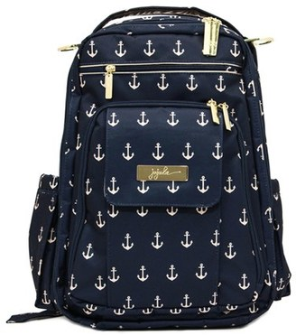 Infant Girl's Ju-Ju-Be 'Legacy - Be Right Back' Diaper Backpack - Blue $155 thestylecure.com