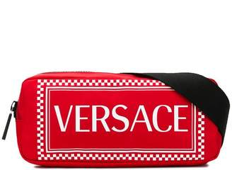 Versace logo print belt bag