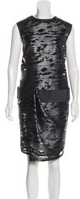 Alexander Wang Patterned Knee-Length Dress w/ Tags