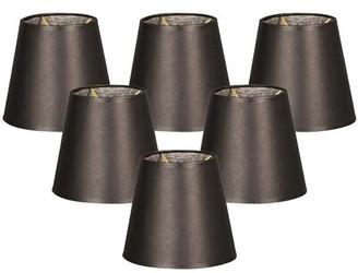 "Alcott Hill Parchment 6"" Paper Empire Lamp Shade Alcott Hill"