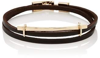 Zadeh Men's San Remo Double-Wrap Bracelet