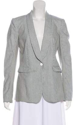Rag & Bone Striped Long Sleeve Blazer