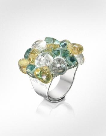 Antica Murrina Rubik - Murano Glass Drops Ring