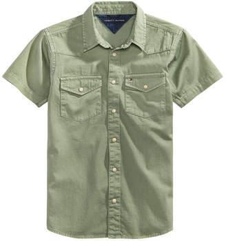 Tommy Hilfiger Mason Cotton Shirt, Big Boys