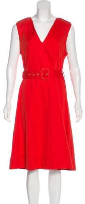 Marni 2013 Sleeveless Midi Dress