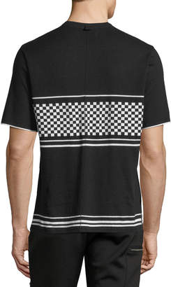 Ovadia & Sons Checker Jersey T-Shirt