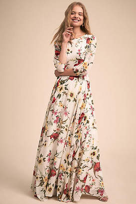 Anthropologie Woodstock Maxi
