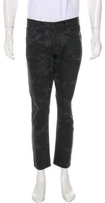 Ralph Lauren Black Label Cropped Skinny Jeans