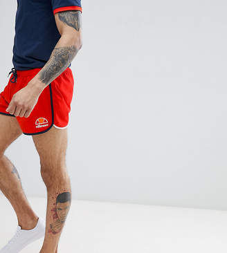 Ellesse Retro Shorts In Red