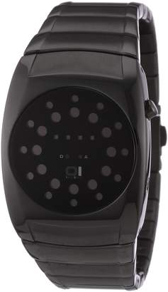 01 The One 01TheOne Women's LL202R2 Lightmare Red LED Ion-Plated Watch