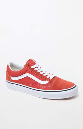 Vans Women's Burnt Orange Old Skool Sneakers