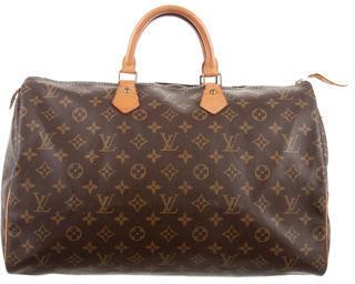 Louis Vuitton Monogram Speedy 40 $645 thestylecure.com