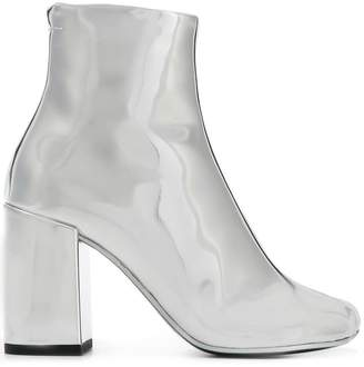 MM6 MAISON MARGIELA metallic ankle boots