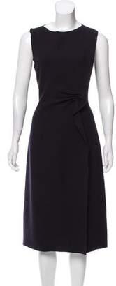 Bottega Veneta Wool Midi Dress