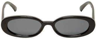 Outta Love Oval Sunglasses