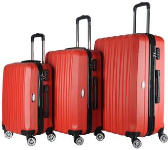 Brio Luggage 1600 Hard Side Spinner Set