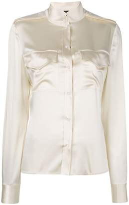 Tom Ford satin blouse