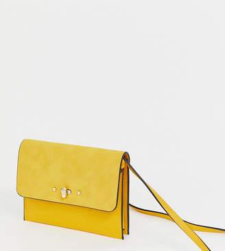 Accessorize yellow cross body bag