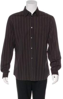 Dolce & Gabbana Woven Striped Shirt