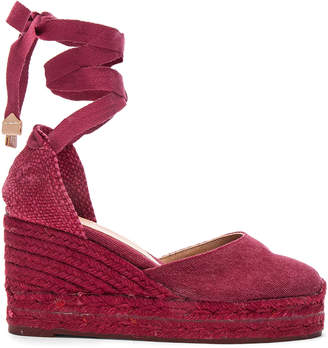 Castaner Canvas Carina Wedge Espadrilles