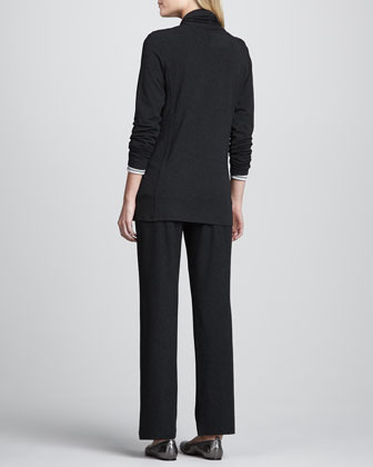 Eileen Fisher Cashmere Striped Top, Moon