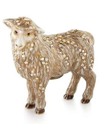 Jay Strongwater Standing Sheep Figurine