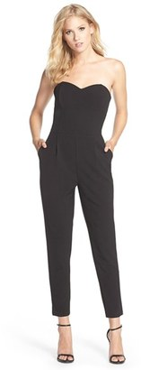 Women's Adelyn Rae Strapless Jumpsuit $92 thestylecure.com