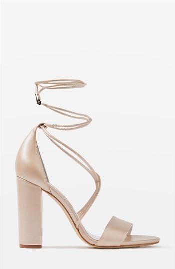 Women's Topshop Bride Beatrix Lace-Up Sandals