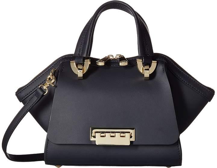 ZAC Zac Posen - Eartha Iconic Mini Double Handle - Solid Top-handle Handbags