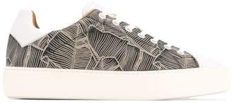 Cerruti printed platform sneakers