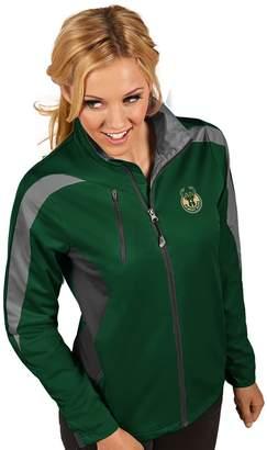 Antigua Women's Milwaukee Bucks Discover Full Zip Jacket