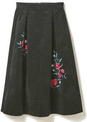DRWCYS (ドロシーズ) - ドロシーズ 刺繍コーデュロイタックスカート