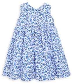 Rachel Riley Baby's& Toddler's Two-Piece Floral-Print Peter Pan Collar Cotton Dress and Bloomers Set