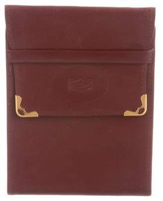 Cartier Vintage Trifold Wallet