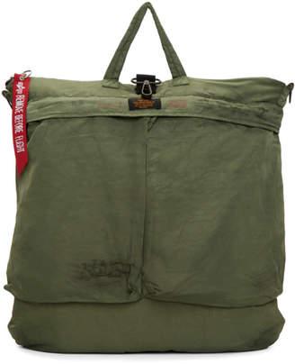 Alpha Industries 424 Green Edition Helmet Bag