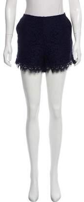 Rachel Zoe Mini Lace Shorts