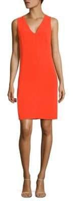 Narciso Rodriguez Bond Crepe Shift Dress