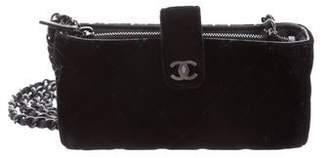 Chanel Velvet O-Phone Holder Crossbody Bag