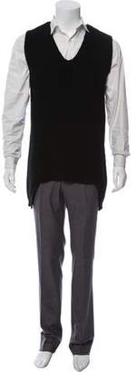 Rick Owens Longline Sweater Vest