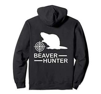 Hunter Beaver Fun Outdoors Hunting Pullover Hoodie
