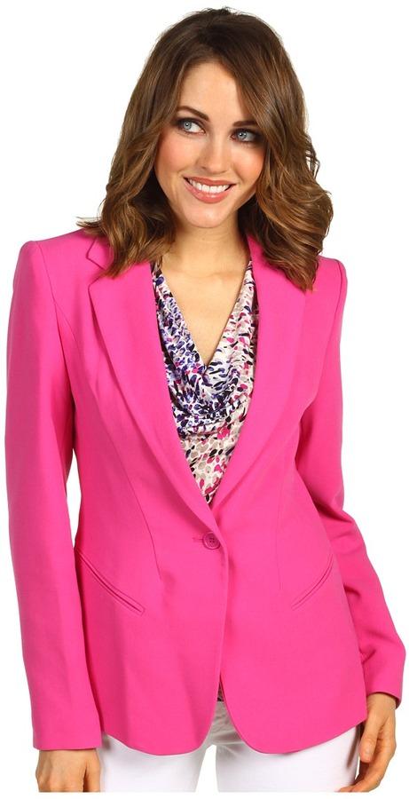 Calvin Klein Seamed Jacket (Magenta) - Apparel