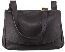 The Row Small Mail Bag Fine Grain Crossbody Bag