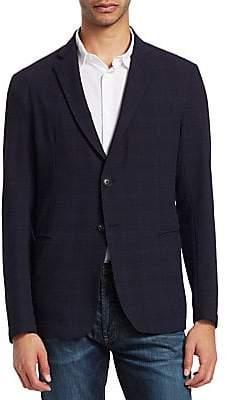 Emporio Armani Men's Plaid Sportcoat