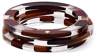 Kate Spade Two-Tone Bangle Bracelets