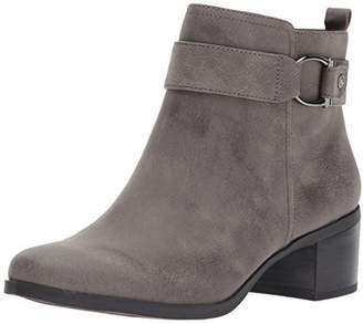Anne Klein AK Sport Women's Jeannie Synthetic Ankle Boot