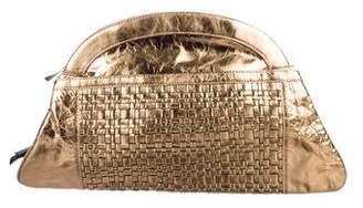 3.1 Phillip Lim Woven Metallic Leather Shoulder Bag